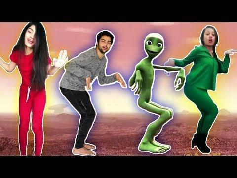 Dame Tu Cosita Dance Challenge  (Alien...