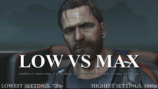 Max Payne 3 - Low vs Max