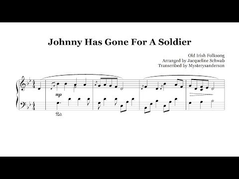 Johnny Has Gone For A Soldier :: Piano