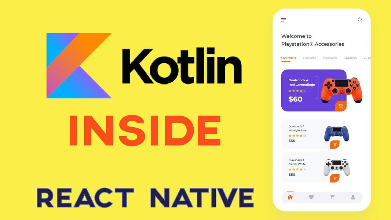 Kotlin vs React Native | How to Use Kotlin & React Native
