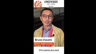 Longevidade Expo + Fórum - Bruno Assami (Stories Instagram)