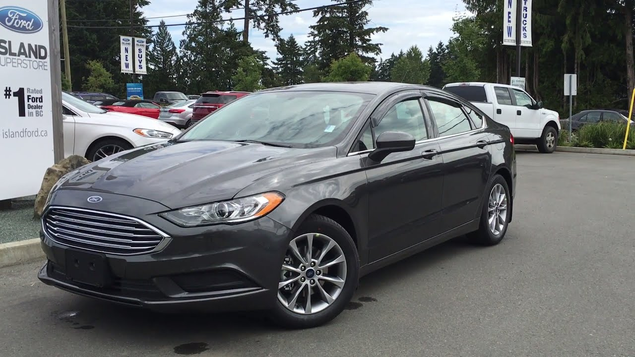 2017 Ford Fusion Se Auto Start Stop Review Island