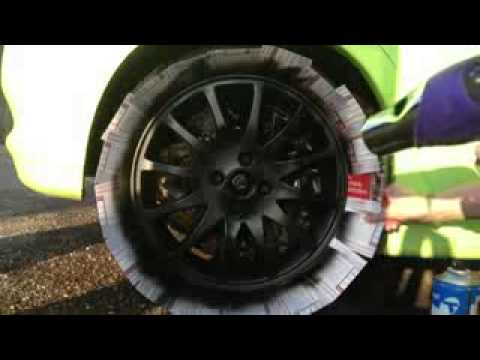Remove Paint On Car Wheels