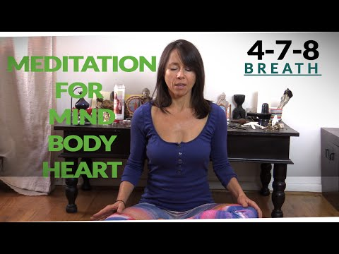 4-7-8 Breath Meditation for Mind/Body/Heart Soothing
