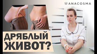 👍 Как убрать живот после родов 😱Дряблая кожа👍Советы доктора  👍
