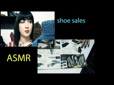 Shoe Sales/RP?Page Flip/Typing ASMR