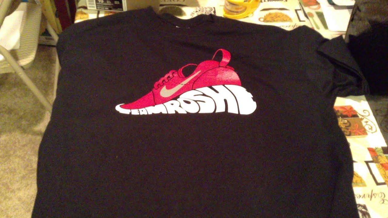 Nike Roshe Chemise Courir T