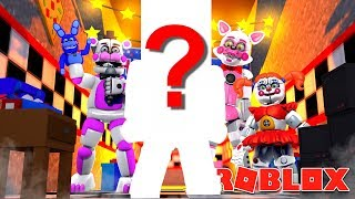 FIVE NIGHTS AT FREDDYS SISTER LOCATION NEW ANIMATRONIC HAS ARRIVED?! Roblox FNAF Callum plays FNAF!