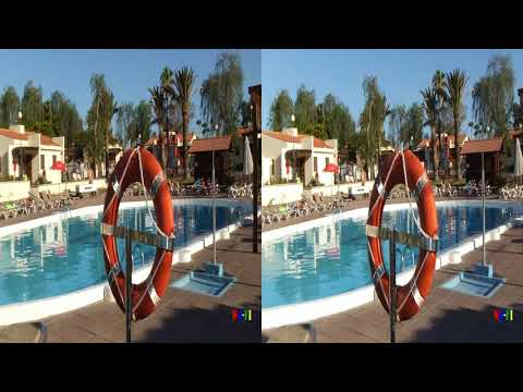 Gran Canaria Maspalomas Hotel Colorado Golf Bungalows in 3D
