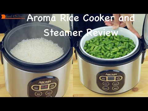 Aroma Rice Cooker And Food Steamer Review Youtube