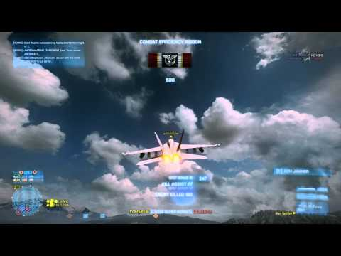 Battlefield 3 Jet Gameplay | After Vacation | By 1ron-tjunfisk