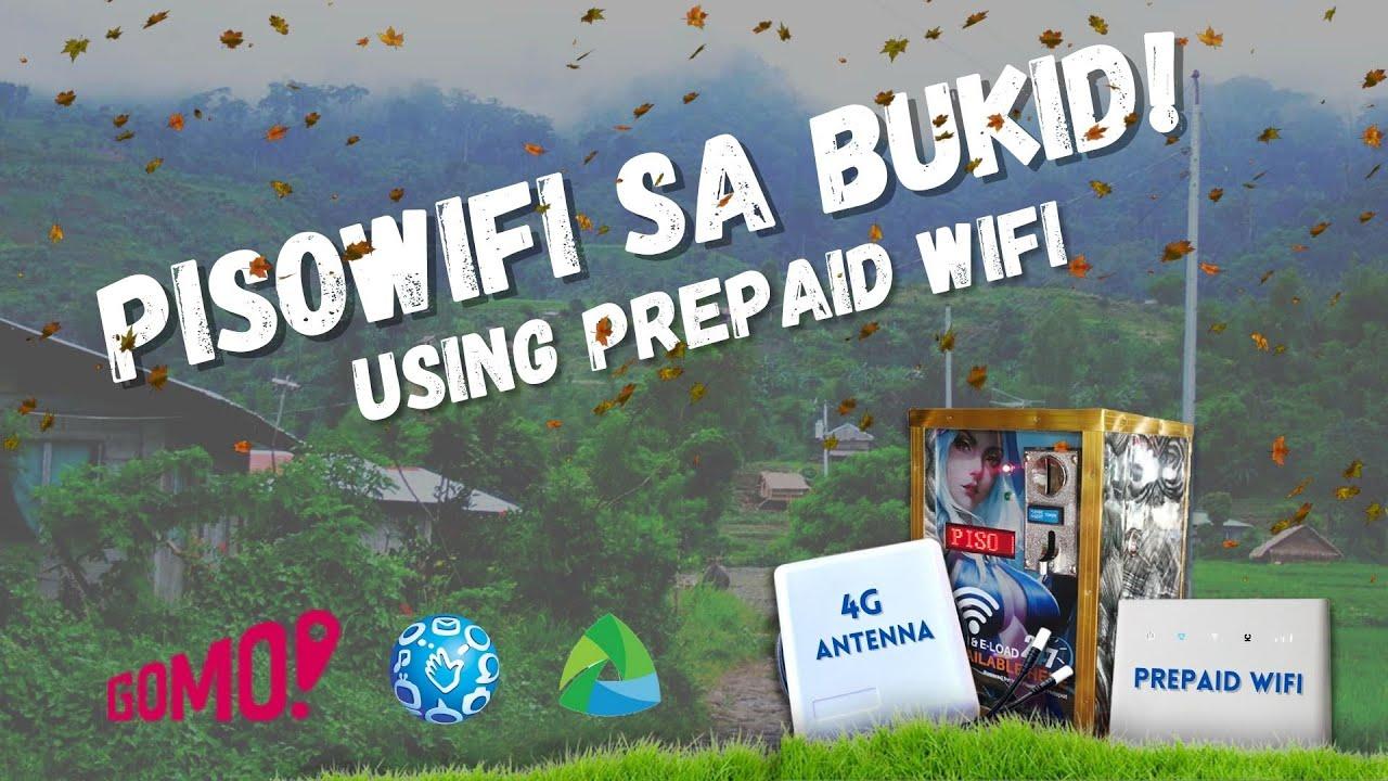 Negosyong Pisowifi Pwedeng Simulan Gamit Lamang ang Prepaid Internet