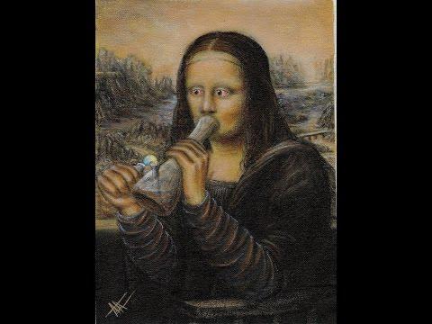 Best Funny Mona Lisa Parodies La Gioconda Painting NO Panic! at the Disco