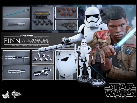 Hot toys - Finn & Riot Control Stormtrooper - MMS346 - Star Wars VII : TFA - French Review Francaise