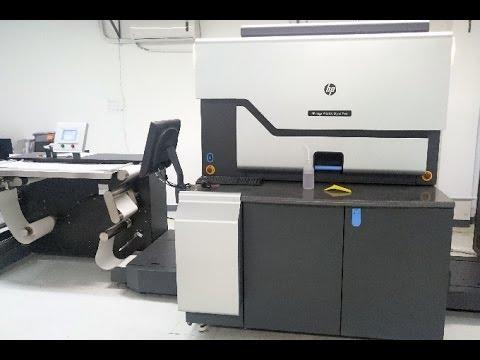 HP Indigo WS6600 Used Digital Printing Press