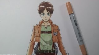 Drawing Eren Jeager - Attack on Titan