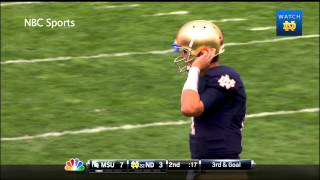 Notre Dame vs. Michigan State Highlights