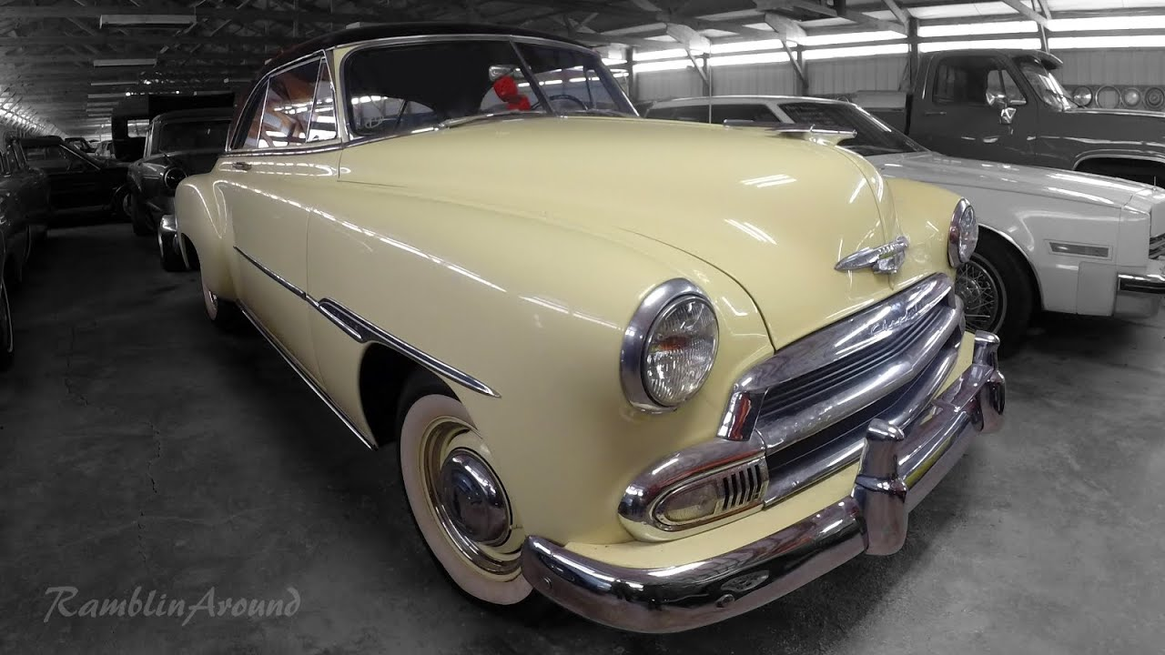 All Chevy 1951 chevy deluxe for sale : 1951 Chevrolet Bel Air Deluxe 2 dr Hardtop - YouTube