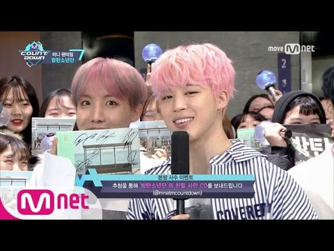 [Mini Fanmeeting with BTS] KPOP TV Show | M COUNTDOWN 170223 EP.512
