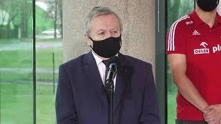 Konferencja premiera Mateusza Morawieckiego poświęcona bezpieczeństwu sportowców