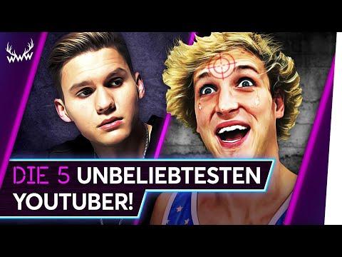 Die 5 UNBELIEBTESTEN YouTuber! | TOP 5