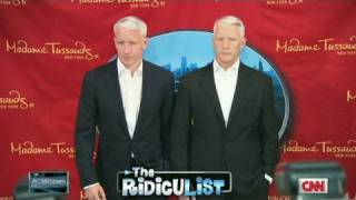 Anderson Cooper unveils his wax 'twin'