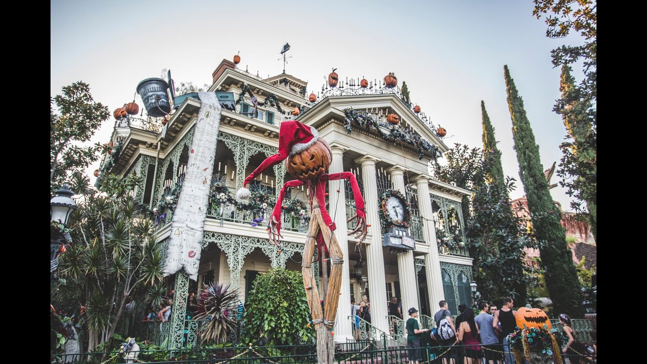 THE HAUNTED MANSION HOLIDAY - Nightmare Before Christmas ...