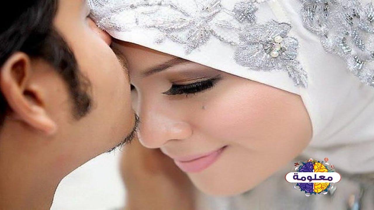 هل يجوز تقبيل او جماع الرجل للمرأة بعد عقد القران أي