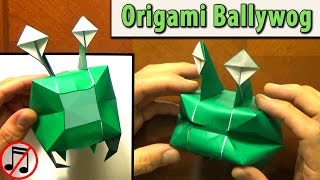 Origami Ballywog