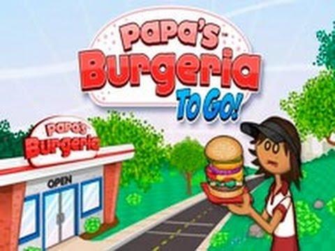 Папа Луи! Готовим бургеры!