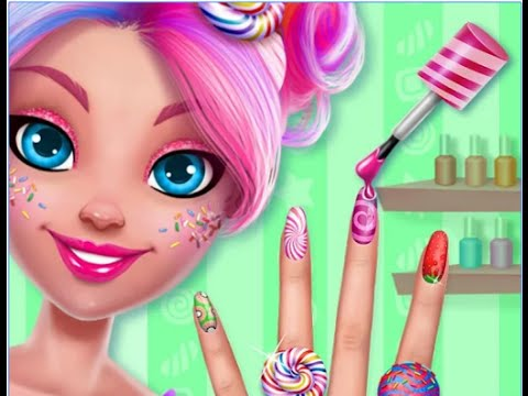 "Candy Makeup Sweet Salon ""TabTale Casual Games"" Android Gameplay Video"