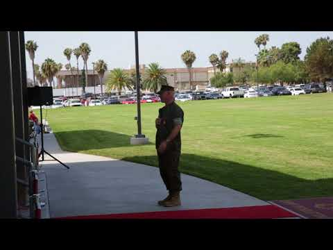 DFN:H&S Bn. Change of Command speeches (Broll) CAMP PENDLETON, CA, UNITED STATES 07.12.2018