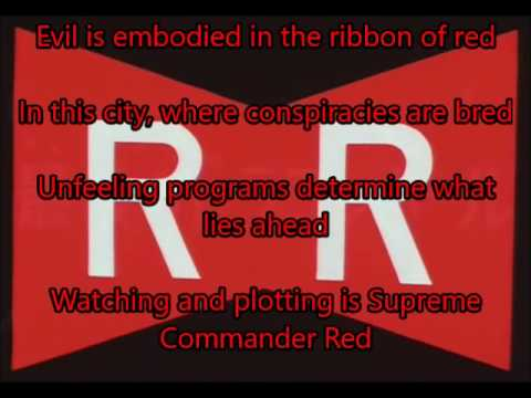 red ribbon lyrics # 33
