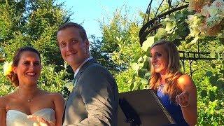 Wedding in the Garden.