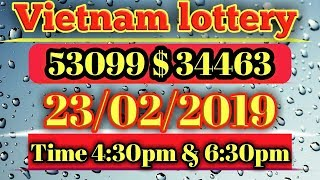Game Vietnam lottery 23/2/2019 Saturday
