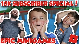 10k Abonné Spécial / Roblox Epic Minigames / Simas Gust And Dad Celebrating / Sub Counter