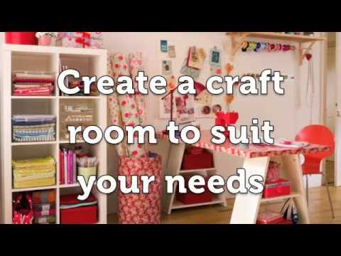 Create the perfect craft room YouTube