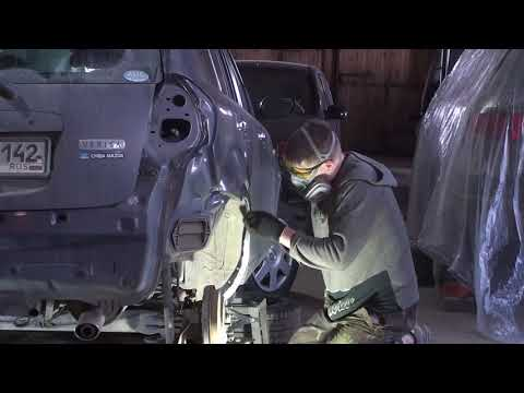 Mazda ржавые задние арки
