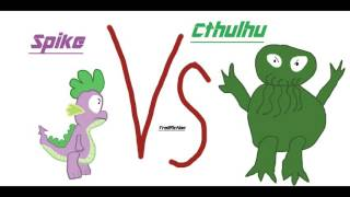 spike Vs Cthulhu mlp Trollfic Reading german/deutsch