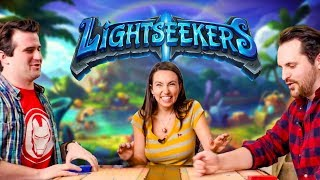 Let's Play LIGHTSEEKERS! (Trading Card Game)