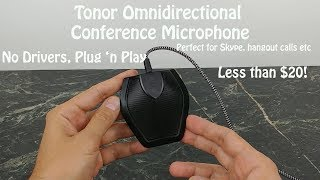 Tonor Omnidirectional Conference Microphone : True Plug and Play