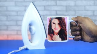 How to Mug Printing with Your Favorite Photo Using Electric Iron DIY
