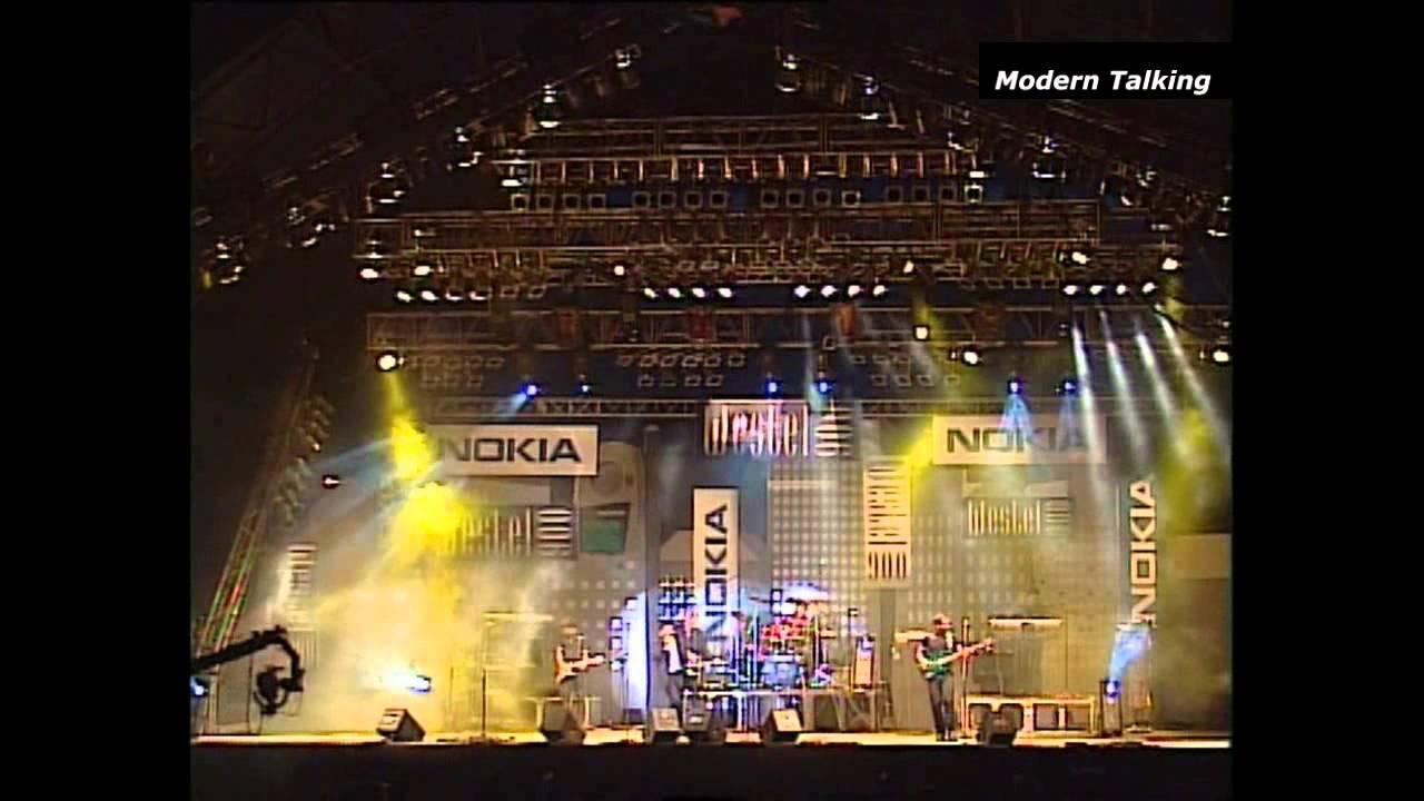 Hd Modern Talking Kapcsolat Koncert 1998 Youtube