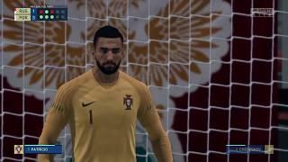Россия Португалия пенальти FIFA 20
