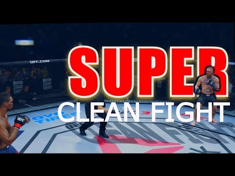 KEEPING IT CLEAN AND SKILLFUL WITH CONOR MCGREGOR EA UFC 3 Beta 2