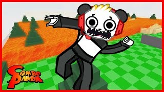 Roblox Floor is Lava AT THE PLAYGROUND Let's Play with Combo Panda