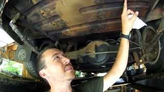 1 - Remove old gas tank from a 1967 MGB 1