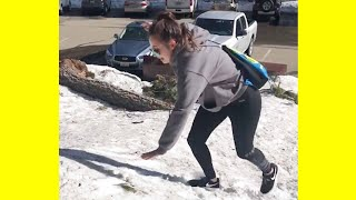 Funny Fails ON ICE! | Winter Snow Fails Video Compilation