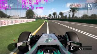F1 2014 GTX 980 FPS Test Ultra