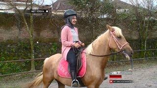 Sensasi Seru Memanah Berkuda di Jogja Horse n Resto NET YOGYA